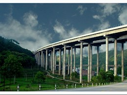 粤赣高速和平段高架桥